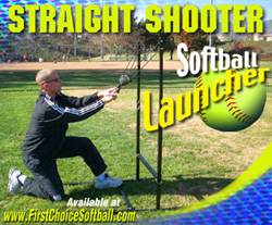 Straight Shooter Softball Launcher